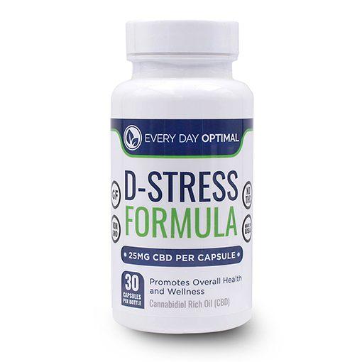 D-Stress CBD Blend - 25mg
