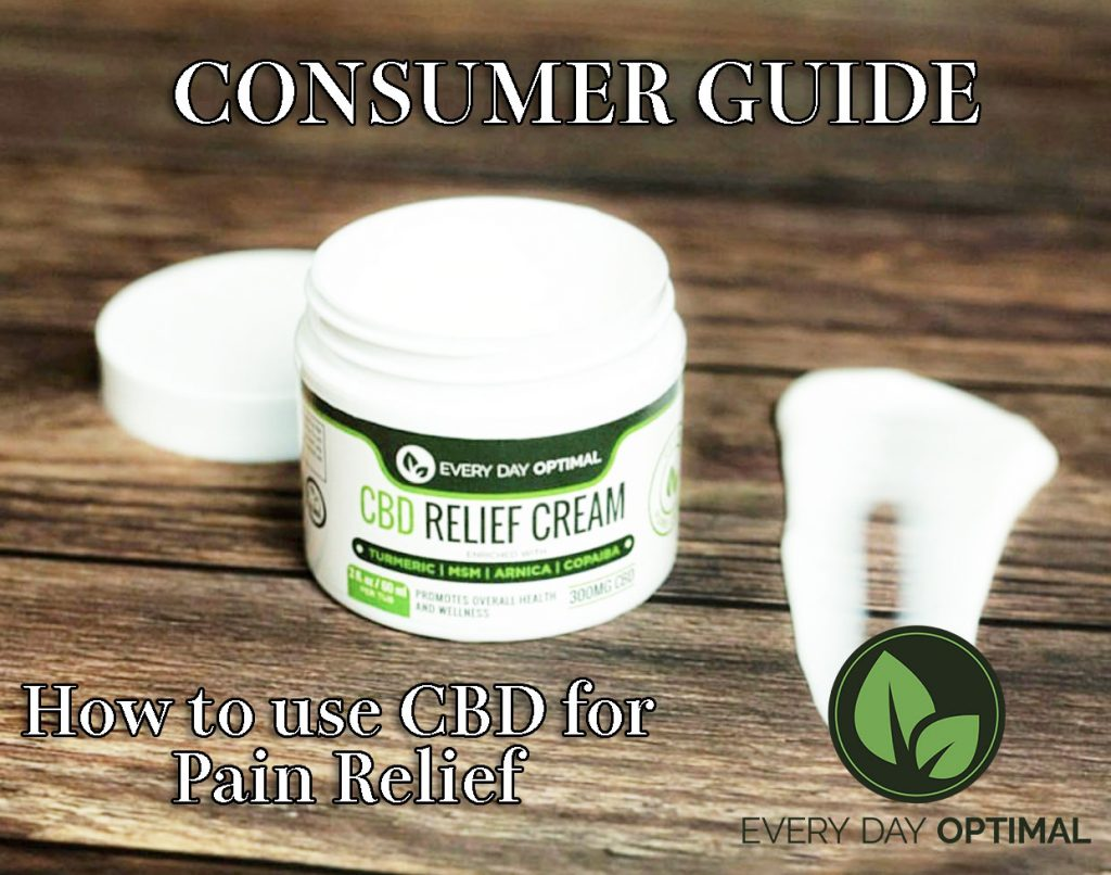 consumer guide pain relief cbd