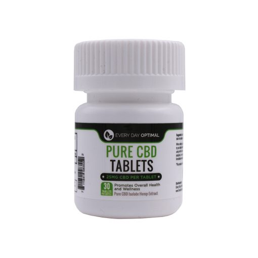 25mg CBD Tablets