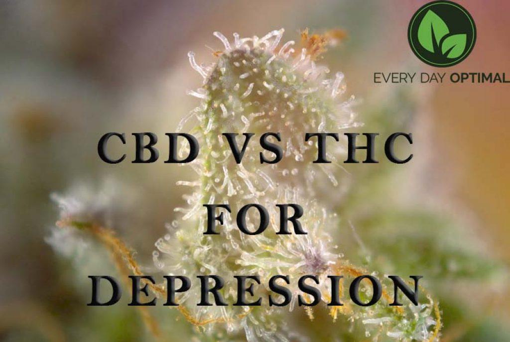 CBD vs THC for Depression