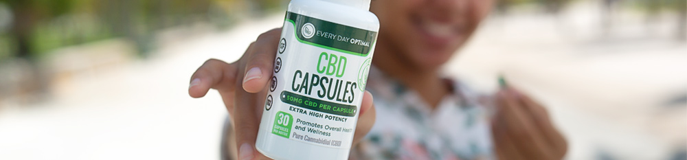 CBD Oil Capsules Category Header